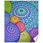 India Ornaments Mandala Balls Multicolored Canvas 16  x 20   20 x16 Canvas - 1