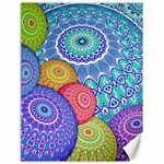 India Ornaments Mandala Balls Multicolored Canvas 18  x 24   24 x18 Canvas - 1