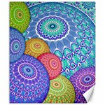 India Ornaments Mandala Balls Multicolored Canvas 20  x 24   24 x20 Canvas - 1