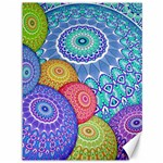 India Ornaments Mandala Balls Multicolored Canvas 36  x 48   48 x36 Canvas - 1