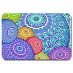 India Ornaments Mandala Balls Multicolored Large Doormat  30 x20 Door Mat - 1