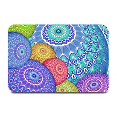 India Ornaments Mandala Balls Multicolored Plate Mats