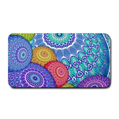 India Ornaments Mandala Balls Multicolored Medium Bar Mats