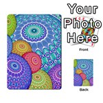 India Ornaments Mandala Balls Multicolored Multi-purpose Cards (Rectangle)  Back 48