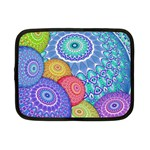 India Ornaments Mandala Balls Multicolored Netbook Case (Small)  Front