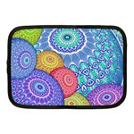 India Ornaments Mandala Balls Multicolored Netbook Case (Medium)  Front