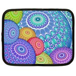India Ornaments Mandala Balls Multicolored Netbook Case (Large) Front