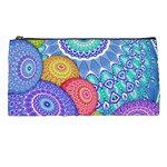 India Ornaments Mandala Balls Multicolored Pencil Cases Front