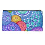 India Ornaments Mandala Balls Multicolored Pencil Cases Back