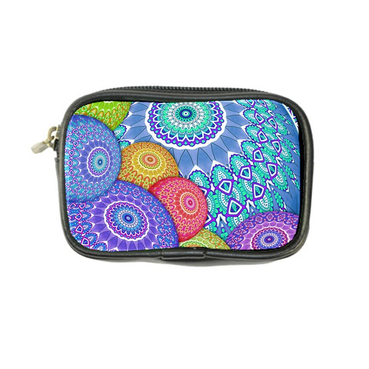 India Ornaments Mandala Balls Multicolored Coin Purse