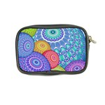 India Ornaments Mandala Balls Multicolored Coin Purse Back