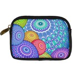 India Ornaments Mandala Balls Multicolored Digital Camera Cases Front