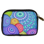 India Ornaments Mandala Balls Multicolored Digital Camera Cases Back