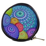 India Ornaments Mandala Balls Multicolored Mini Makeup Bags Front
