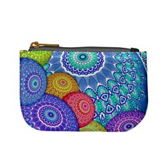 India Ornaments Mandala Balls Multicolored Mini Coin Purses