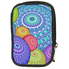 India Ornaments Mandala Balls Multicolored Compact Camera Cases