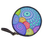 India Ornaments Mandala Balls Multicolored Classic 20-CD Wallets Front