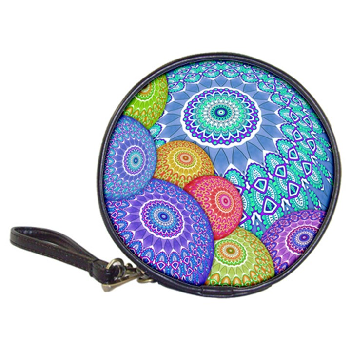 India Ornaments Mandala Balls Multicolored Classic 20-CD Wallets