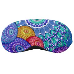 India Ornaments Mandala Balls Multicolored Sleeping Masks