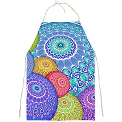 India Ornaments Mandala Balls Multicolored Full Print Aprons