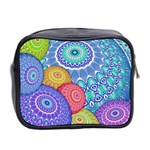 India Ornaments Mandala Balls Multicolored Mini Toiletries Bag 2-Side Back