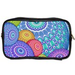 India Ornaments Mandala Balls Multicolored Toiletries Bags Front