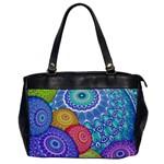 India Ornaments Mandala Balls Multicolored Office Handbags Front