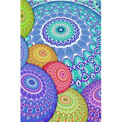 India Ornaments Mandala Balls Multicolored 5.5  x 8.5  Notebooks