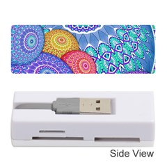 India Ornaments Mandala Balls Multicolored Memory Card Reader (stick)