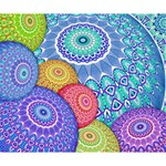 India Ornaments Mandala Balls Multicolored Deluxe Canvas 14  x 11  14  x 11  x 1.5  Stretched Canvas