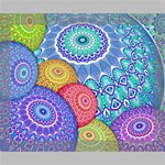 India Ornaments Mandala Balls Multicolored Deluxe Canvas 20  x 16   20  x 16  x 1.5  Stretched Canvas