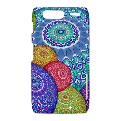 India Ornaments Mandala Balls Multicolored Motorola Droid Razr XT912