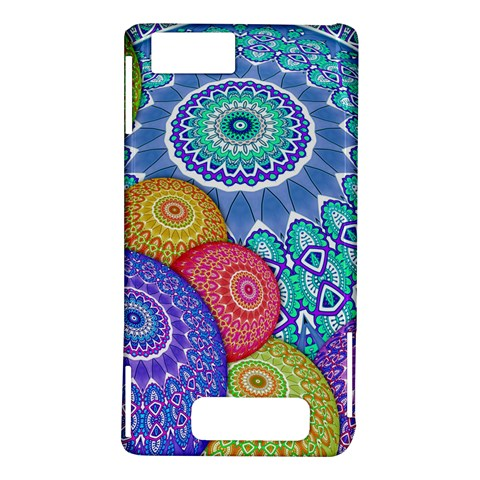 India Ornaments Mandala Balls Multicolored Motorola DROID X2