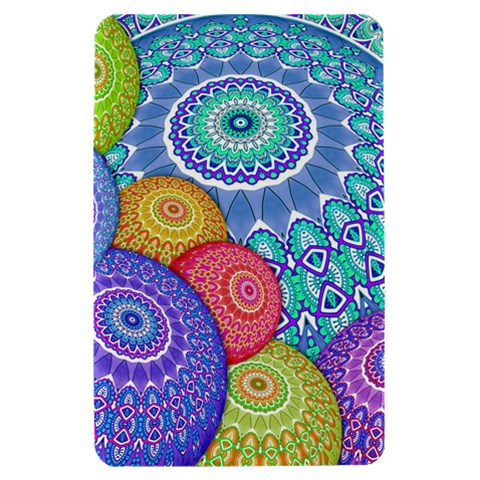 India Ornaments Mandala Balls Multicolored Kindle Fire (1st Gen) Hardshell Case