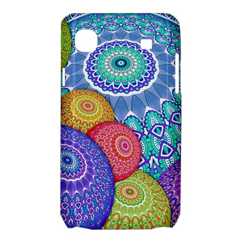 India Ornaments Mandala Balls Multicolored Samsung Galaxy SL i9003 Hardshell Case