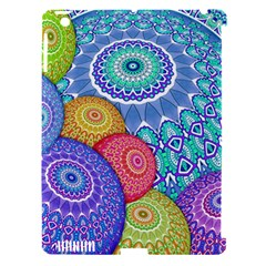India Ornaments Mandala Balls Multicolored Apple Ipad 3/4 Hardshell Case (compatible With Smart Cover)