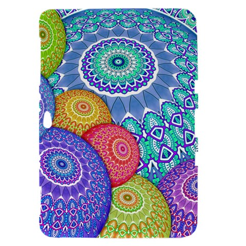 India Ornaments Mandala Balls Multicolored Samsung Galaxy Tab 8.9  P7300 Hardshell Case