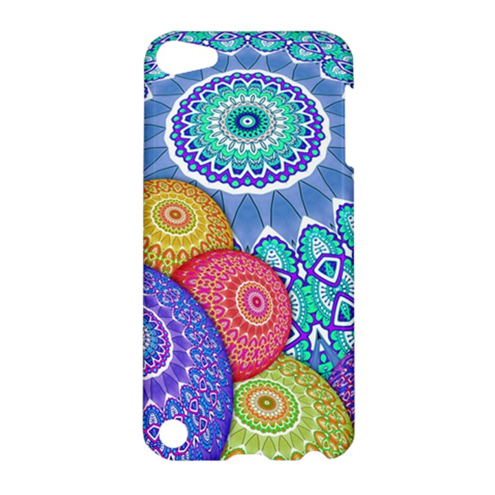 India Ornaments Mandala Balls Multicolored Apple iPod Touch 5 Hardshell Case