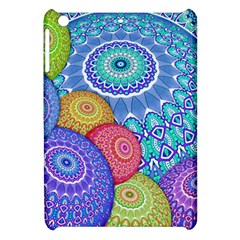 India Ornaments Mandala Balls Multicolored Apple iPad Mini Hardshell Case