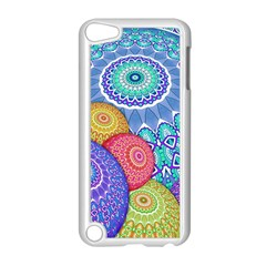 India Ornaments Mandala Balls Multicolored Apple iPod Touch 5 Case (White)