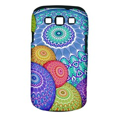 India Ornaments Mandala Balls Multicolored Samsung Galaxy S III Classic Hardshell Case (PC+Silicone)