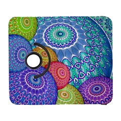 India Ornaments Mandala Balls Multicolored Samsung Galaxy S  Iii Flip 360 Case