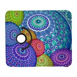 India Ornaments Mandala Balls Multicolored Samsung Galaxy S  III Flip 360 Case Front