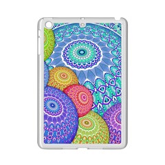 India Ornaments Mandala Balls Multicolored Ipad Mini 2 Enamel Coated Cases