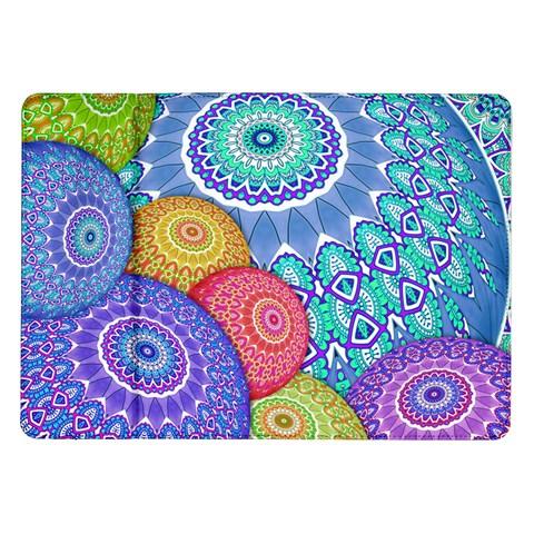 India Ornaments Mandala Balls Multicolored Samsung Galaxy Tab 10.1  P7500 Flip Case