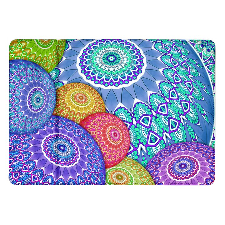 India Ornaments Mandala Balls Multicolored Samsung Galaxy Tab 10.1  P7500 Flip Case