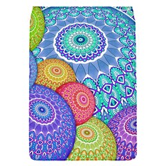 India Ornaments Mandala Balls Multicolored Flap Covers (S)