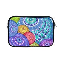 India Ornaments Mandala Balls Multicolored Apple iPad Mini Zipper Cases