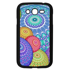 India Ornaments Mandala Balls Multicolored Samsung Galaxy Grand Duos I9082 Case (black)