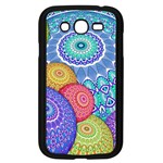 India Ornaments Mandala Balls Multicolored Samsung Galaxy Grand DUOS I9082 Case (Black) Front